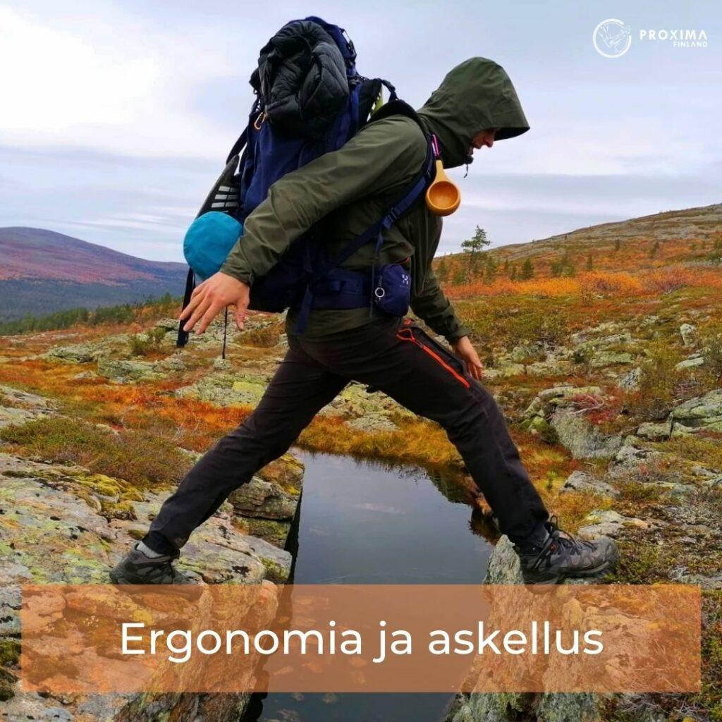 vaellus reitit - fysioterapia - proxima finland